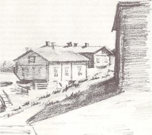 taloja pellavatehtaanmäellä